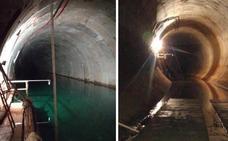 El túnel del metrotrén ya está vacío