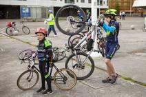 Bicicletada medioambiental en Gijón