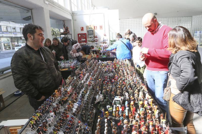 El Mercado del Playmobil gana terreno en Asturias
