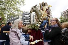 La Borriquilla y la Bendición de Ramos abren hoy el calendario de procesiones de la Semana Santa
