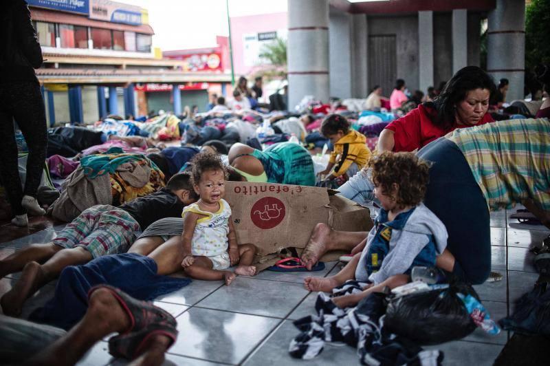 La dura travesía de los migrantes mexicanos