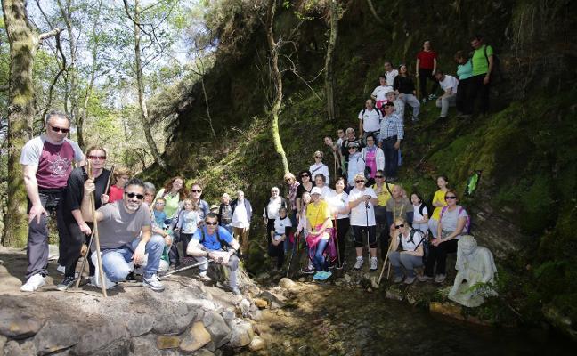 Una senda para hacer brillar a San Roque del Acebal