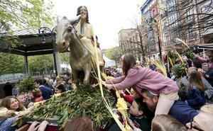 Asturias abre la Semana Santa con la bendición de los ramos