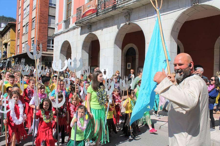Bouzán y Fiuza dominan el Piloña