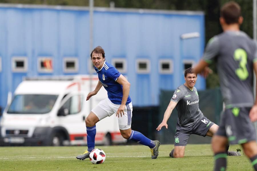 Ernesto lidera otra remontada del Oviedo B