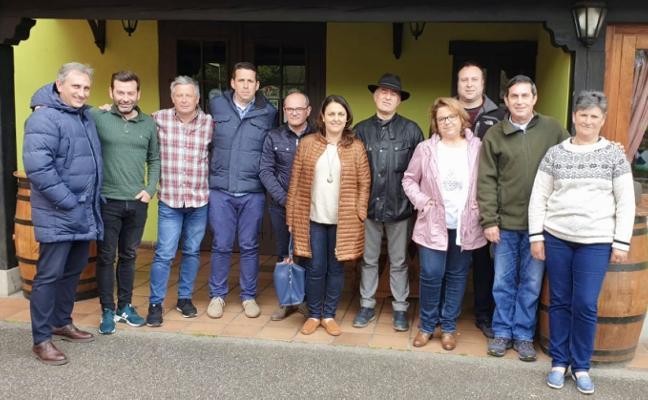 Ciudadanos se reúne con el CD Colunga y CD Llanes