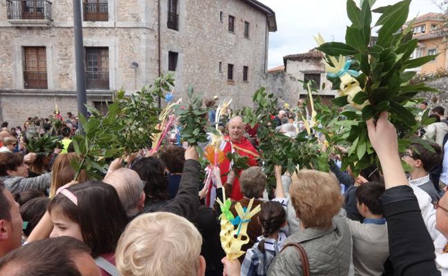 La bendición de Ramos inicia la Semana Santa