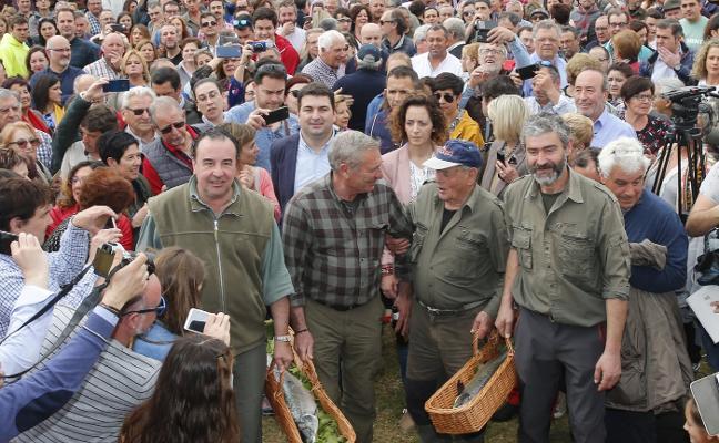 Campanu en Asturias | La tradición vuelve a Cornellana a 2.000 el kilo