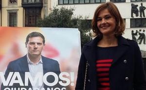 Lucía Canga, candidata de Ciudadanos Noreña