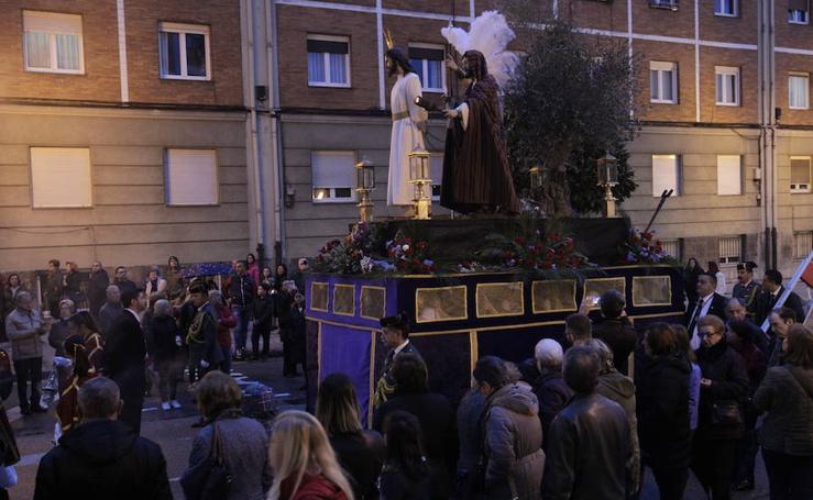 El Prendimiento, pasado por agua en Oviedo