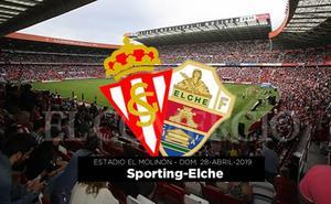 Concurso: Gana entradas para el Sporting–Elche