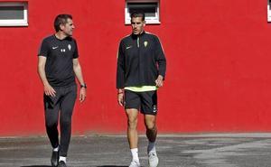 Álex Alegría: «Estoy muy contento de haber venido al Sporting»
