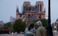Así ha amanecido Notre Dame tras el devastador incendio