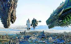 Paseos en dragón y memes en la vuelta de 'Juego de Tronos'