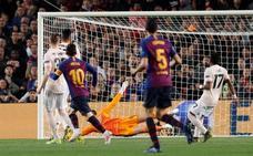 Messi rompe la barrera de cuartos