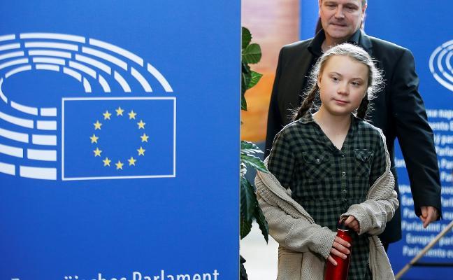 Greta Thunberg pide determinación a la UE