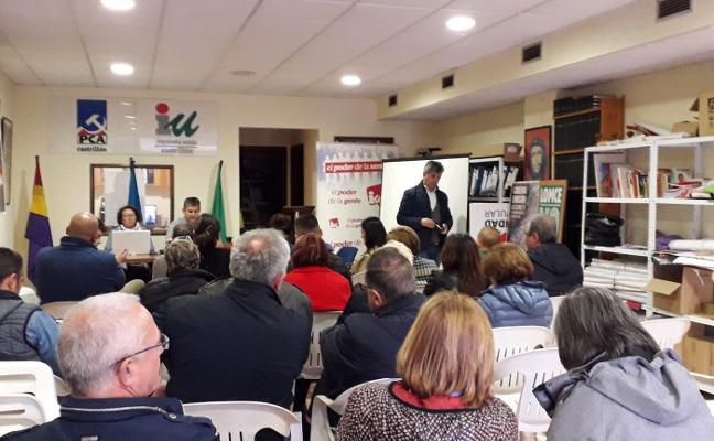IU presenta una lista para «seguir creando un concejo fuerte y cohesionado»