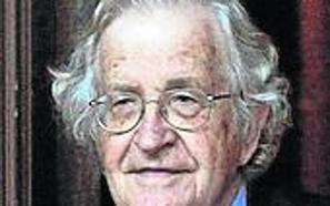 El lingüista Noam Chomsky, premio Fronteras del Conocimiento en Humanidades