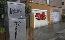 A juicio por hacer pintadas y resistirse a la Policía en Gijón
