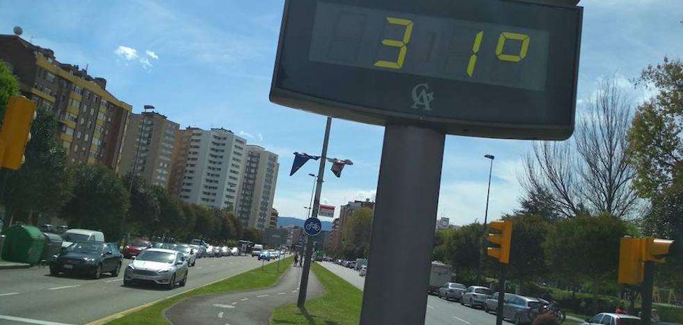 Bochorno en Asturias como anticipo de las tormentas