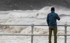 Asturias, en alerta amarilla por fuertes vientos