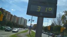 Los termómetros se disparan en Gijón
