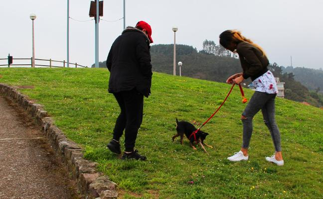 El taller de empleo se encargará de habilitar el nuevo parque canino de Candás