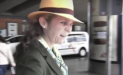 La Infanta Elena, contra la prensa: «Qué coñazo. Gentuza»