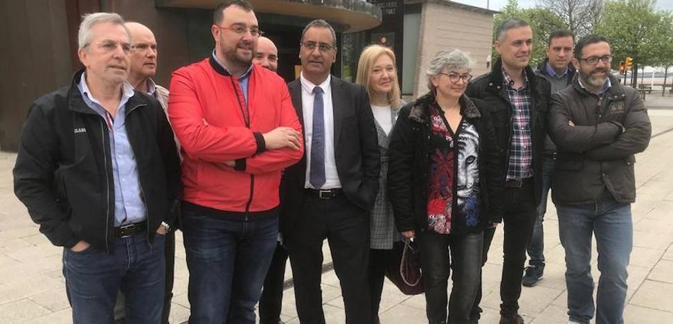 El PSOE asegura que el convenio del plan de vías «devuelve a Asturias a la agenda del Gobierno de España»