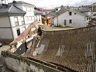 Derrumbe del techo de una discoteca en Tapia de Casariego