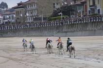Las mejores imágenes de la carrera de caballos de Ribadesella