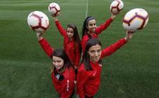 Duelo histórico entre Gijón FF y Sporting en El Molinón
