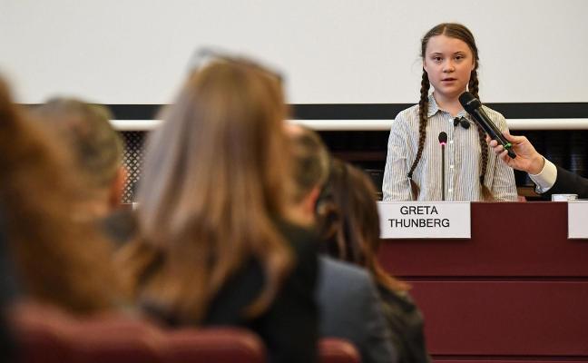 Greta Thumberg, entre los líderes más influyentes con solo 16 años