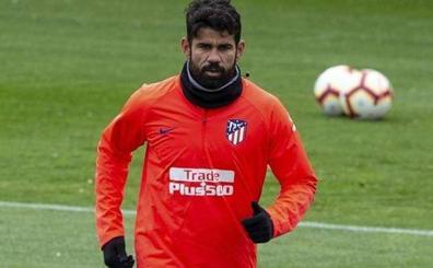 Diego Costa vuelve a entrenar con el Atlético de Madrid un día después de rebelarse