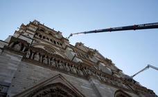 Los cuadros de Notre Dame, a recaudo en el Louvre