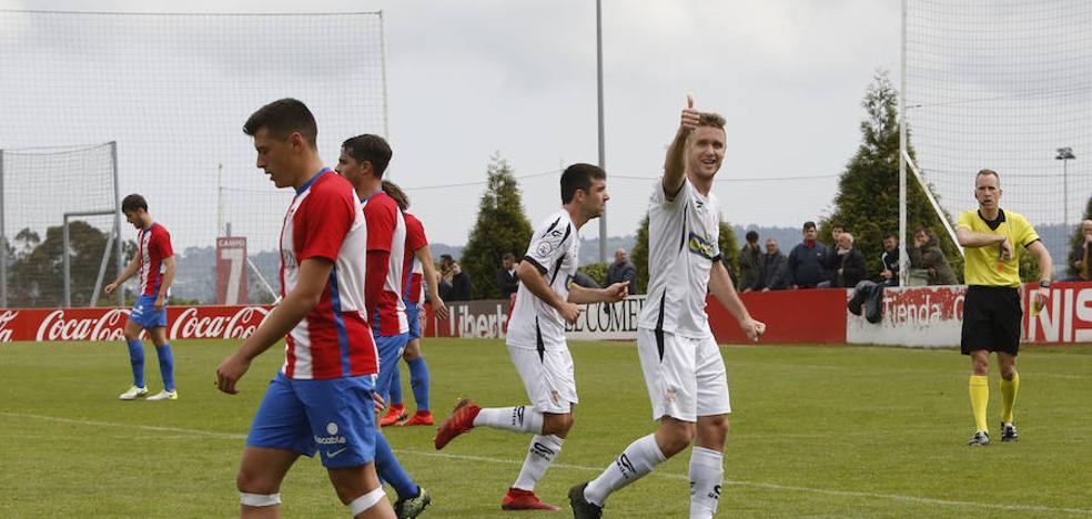El Real Unión corta la racha del Sporting B