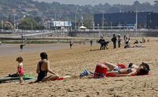Gijón, sol y playa