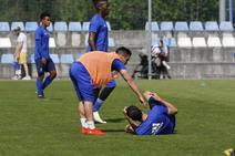 Entrenamiento del Real Oviedo (20/04/2019)