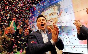 Volodímir Zelenski, del espectáculo a la política o la política como espectáculo