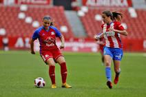 Las mejores imágenes del derbi Gijón FF 1-7 Sporting en El Molinón