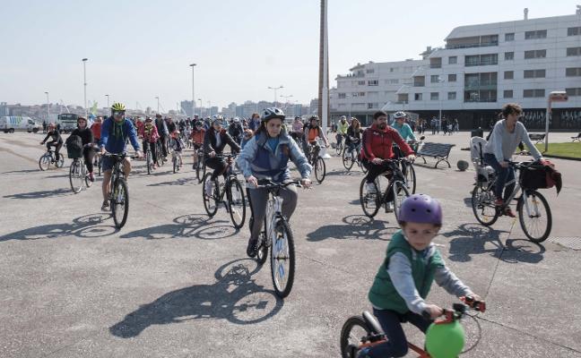 280 ciclistas por todo Gijón