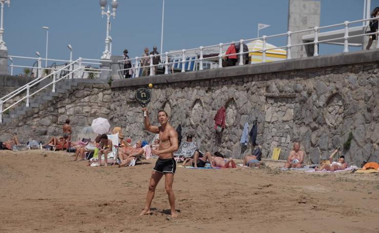 Asturias aprovecha los últimos rayos de sol de la Semana Santa