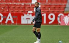 Sporting: Aitor García, cuatro semanas de baja