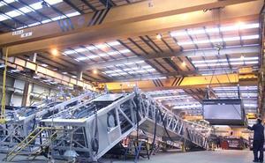 La planta asturiana Thyssenkrupp Norte, elegida como la mejor fábrica del grupo
