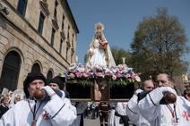 Gijón cierra la Semana Santa con una asistencia masiva