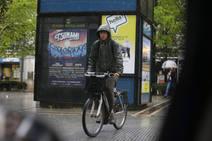Tarde de intensas lluvias en Gijón