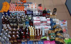 Dos detenidos por cometer hurtos a gran escala en varios supermercados