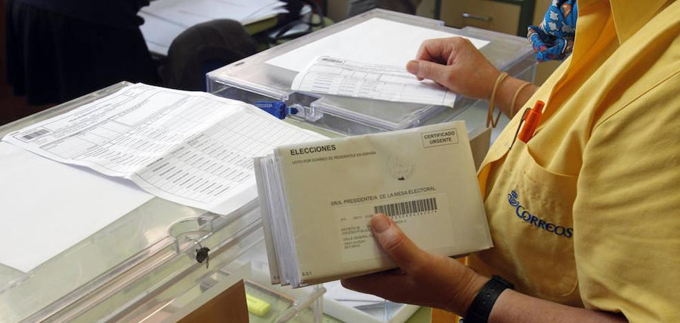 El voto por correo de las elecciones generales se amplía hasta el jueves 25 de abril