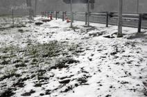 Vuelve la nieve al Huerna