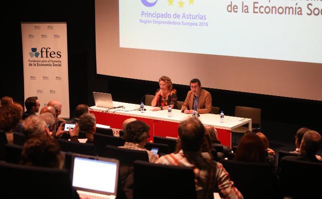 Los cooperativistas defienden en Avilés la vigencia del modelo de economía social